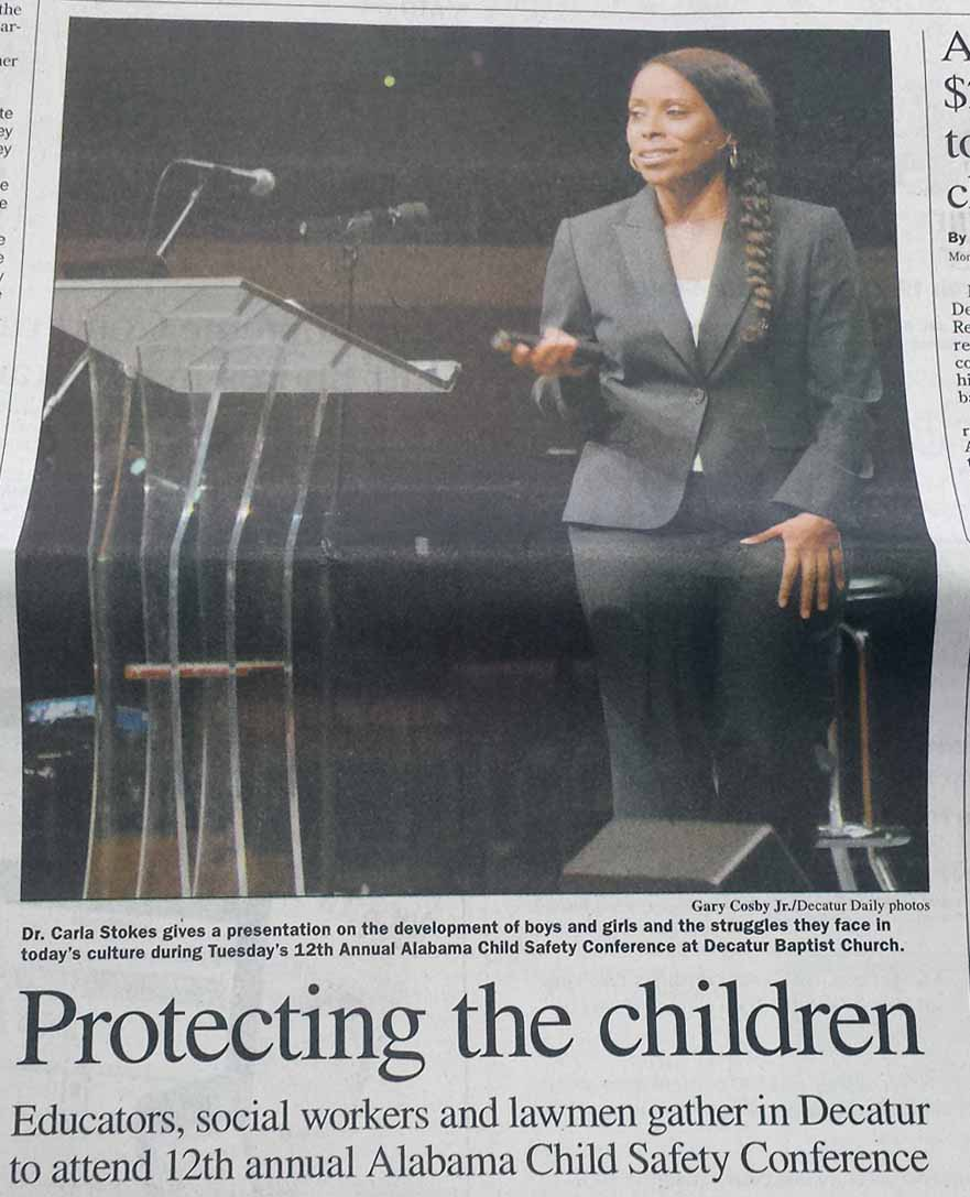 Decatur Daily - Protecting the Children - Front Page