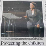 Dr. Carla Keynote Speaker at 12th Annual Alabama Child Safety Conference