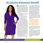 Dr. Carla Featured in University of Michigan School of Public Health Magazine: What Does It Take to Change the World?